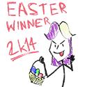 Easter Winner 2014